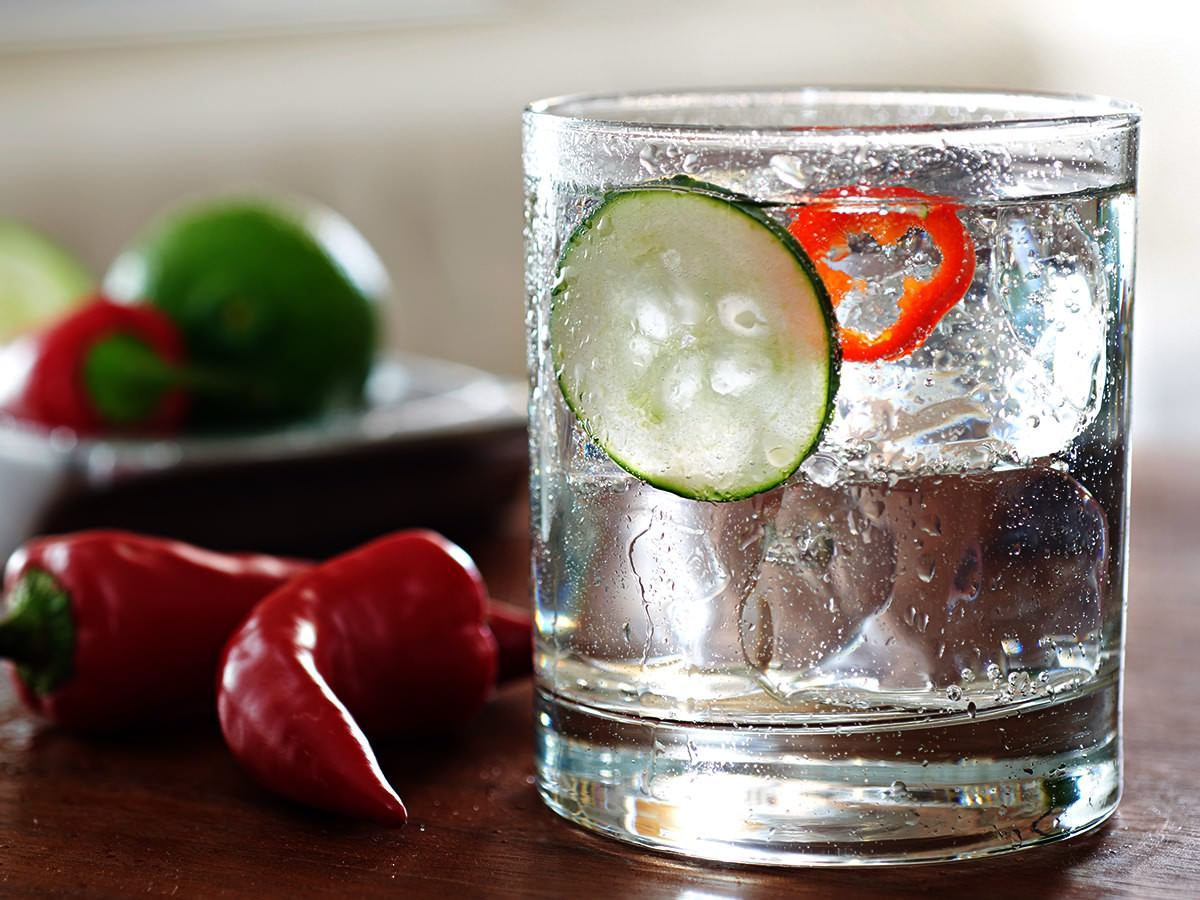 SAUZA® CUCUMBER CHILI COOLER