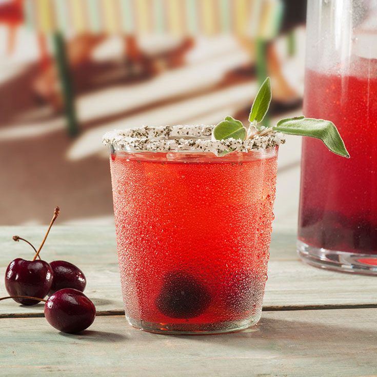 SAUZA® CHERRY SAGE SMASH